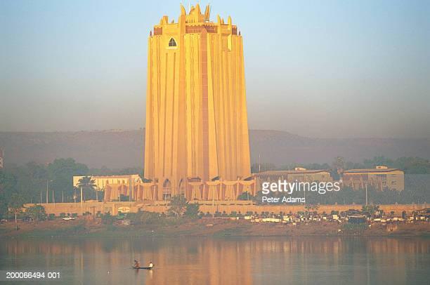 Mali, Bamako, Bank of Africa (BCEAO) building