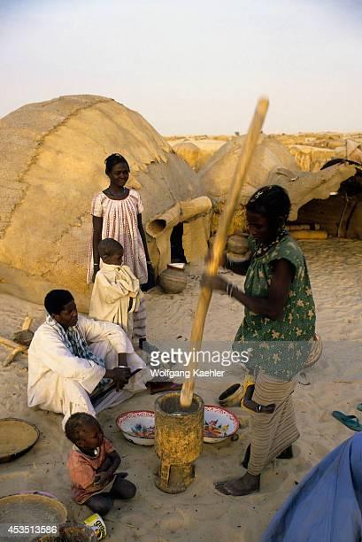 Mali Timbuktu Tuareg Tribe Campsite