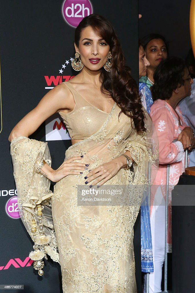 Maliaka Arora Khan arrives to the IIFA Magic of the Movies at MIDFLORIDA Credit Union Amphitheatre on April 25, 2014 in Tampa, Florida.
