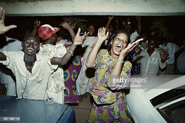 Malian burst in joy on March 26 in Bamako after president Moussa Traore has been arrested by military officers In early 1991 studentled...