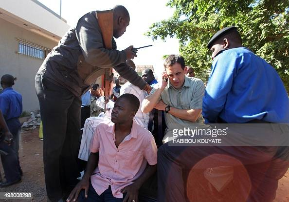 Malian security forces prepare to transport hostages freed from the Radisson Blu hotel in Bamako on November 20 2015 Gunmen went on a shooting...
