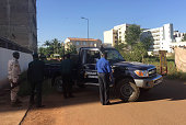 Malian security forces take position near the Radisson Blu hotel in Bamako on November 20 2015 Gunmen went on a shooting rampage at the luxury...