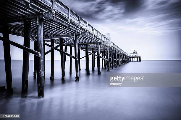 Malibu Pier, Los Angeles County, Kalifornien, USA