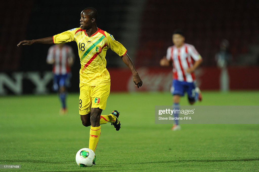 Malick Berthe of Mali in action during the FIFA U20 World Cup Group D match between Paraguay and Mali at Kamil Ocak Stadium on June 22, 2013 in Gaziantep, Turkey.