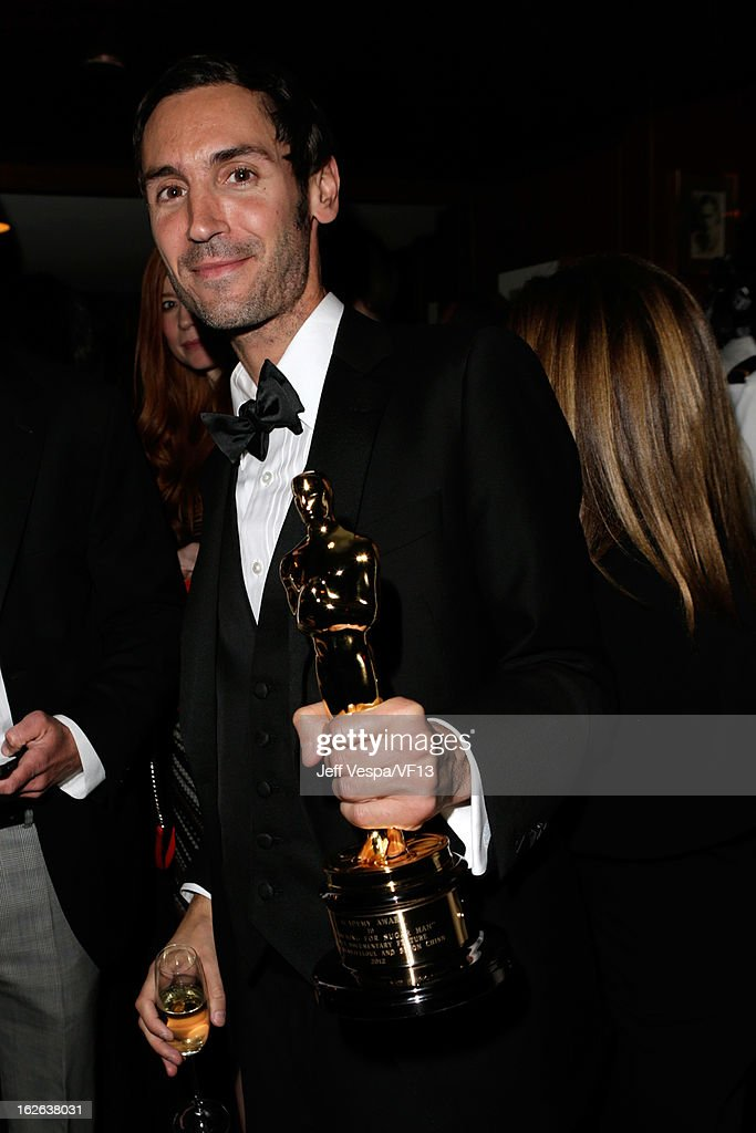 Malik Bendjelloul attends the 2013 Vanity Fair Oscar Party hosted by Graydon Carter at Sunset Tower on February 24, 2013 in West Hollywood, California.