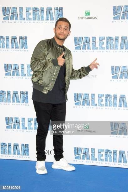 Malik Bentalha attends 'Valerian et la Cite desMille Planetes' Paris Premiere at La Cite Du Cinema on July 25 2017 in SaintDenis France