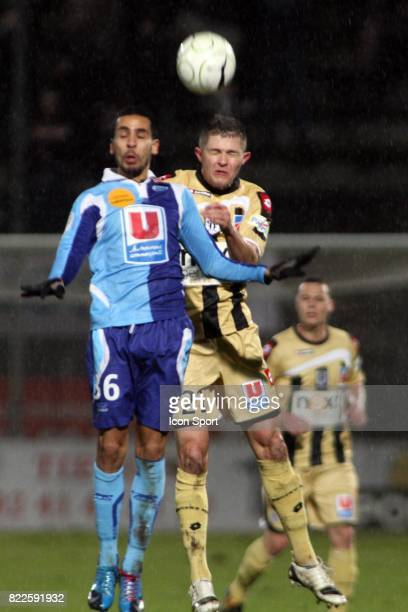 Malik COUTURIER / Walid MESLOUB Angers / Le Havre 22eme Journee de Ligue 2