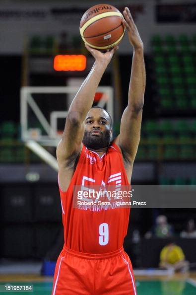 Malik Hairston of Armani in action during the basketball match between EA7 Emporio Armani Milano and SAIE3 Bologna for Quadrangular Basket Trophy at...