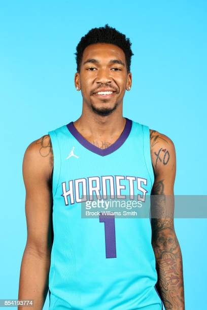 Malik Monk of the Charlotte Hornets poses for a head shot during media day at Spectrum Center in Charlotte North Carolina NOTE TO USER User expressly...