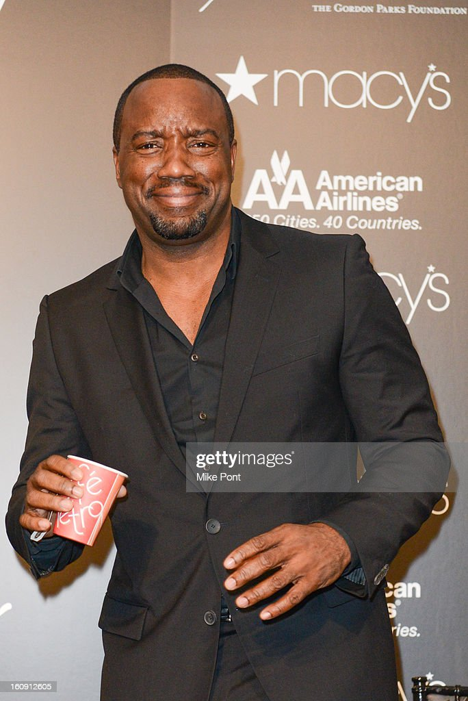 <a gi-track='captionPersonalityLinkClicked' href=/galleries/search?phrase=Malik+Yoba&family=editorial&specificpeople=714316 ng-click='$event.stopPropagation()'>Malik Yoba</a> attends Macy's hosts 'In Conversation' honoring Gordon Parks at Macy's Herald Square on February 7, 2013 in New York City.