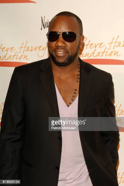 Malik Yoba attends The 1st Annual STEVE HARVEY FOUNDATION Gala at Cipriani Wall Street on May 3 2010 in New York City