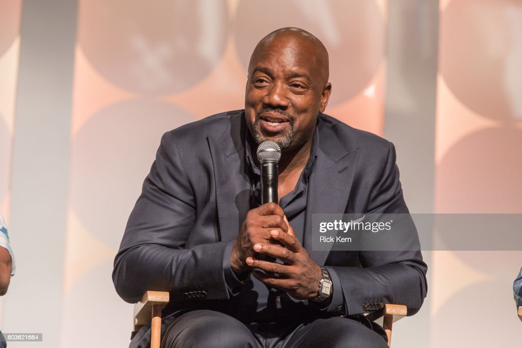 Malik Yoba speaks during the MegaFest Leading Men In Hollywood Panel at the Omni Hotel on June 29, 2017 in Dallas, Texas.