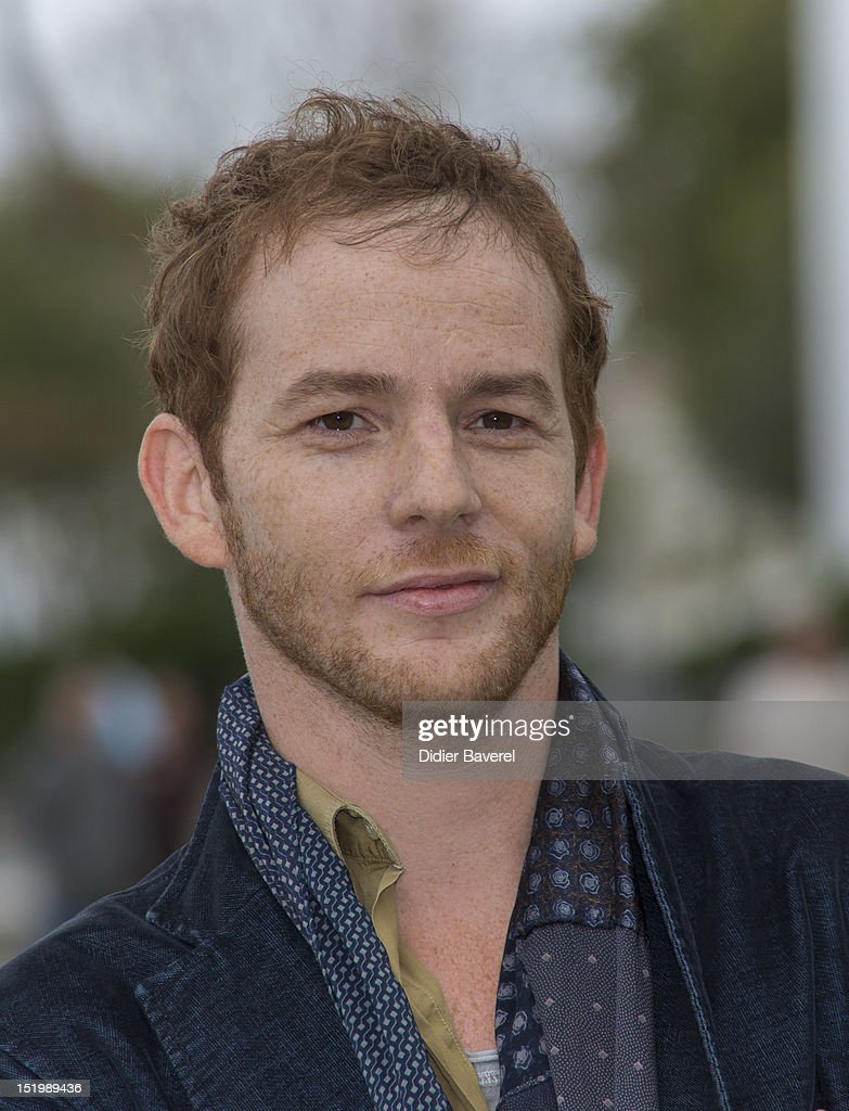 Malik Zidi poses during the 'Berthe Morisot' Photocall at La Rochelle Fiction Television Festival on September 14 2012 in La Rochelle France