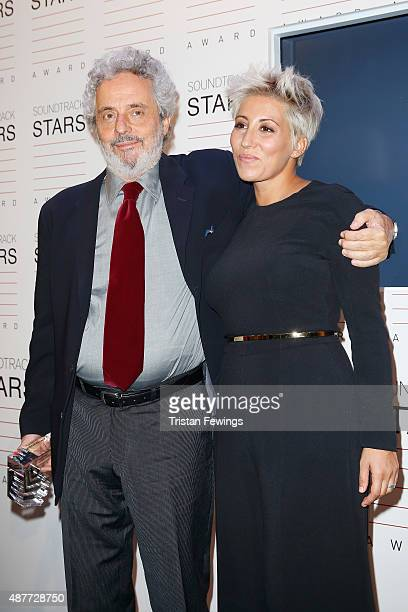 Malika Ayane and Nicola Piovani attend the Awards Ceremony For The Soundtrack Stars 2015 during the 72nd Venice Film Festival at on September 11 2015...