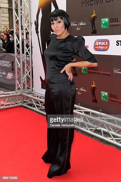 Malika Ayane attends the 'David Di Donatello' movie awards at the Auditorium Conciliazione on May 7 2010 in Rome Italy