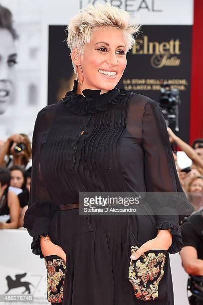 Malika Ayane attends the opening ceremony and premiere of 'Everest' during the 72nd Venice Film Festival on September 2 2015 in Venice Italy