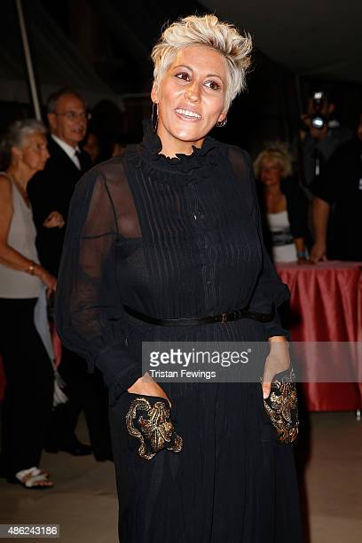 Malika Ayane attends the opening dinner during the 72nd Venice Film Festival on September 2 2015 in Venice Italy