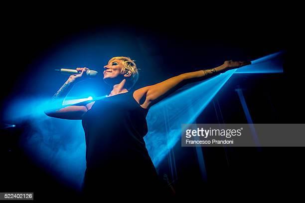 Malika Ayane performs on April 18 2016 in Milan Italy