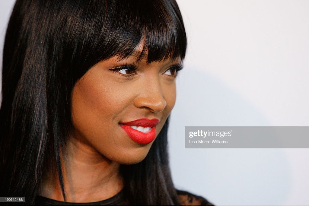 Malika Haqq arrive at the Kardashian Kollection cocktail party at the Park Hyatt Guest House on November 19, 2013 in Sydney, Australia.