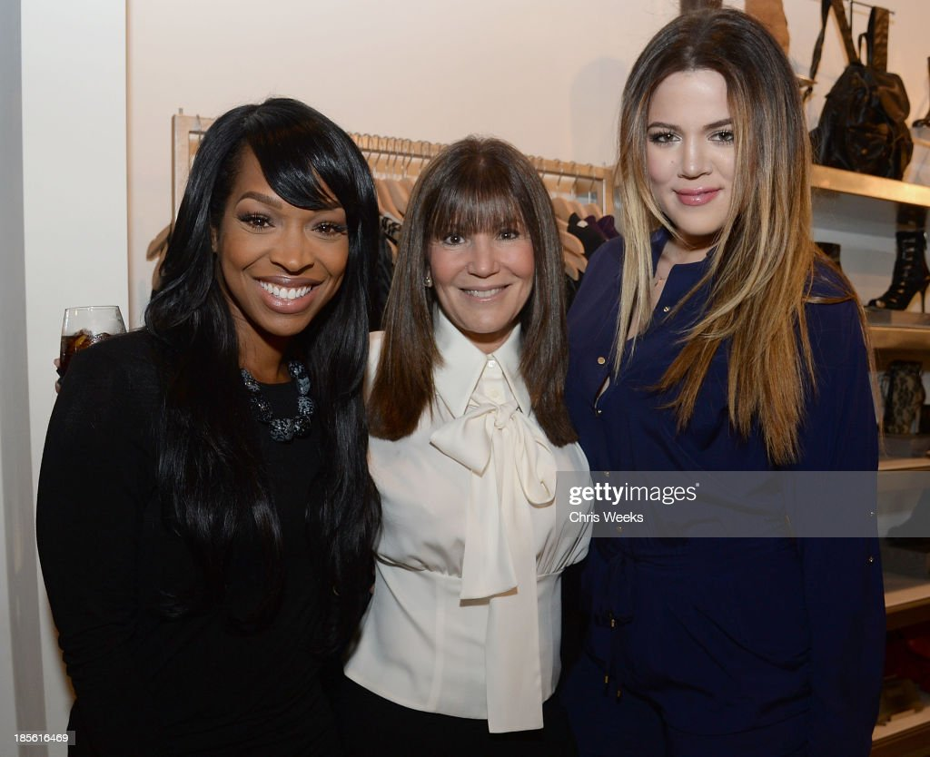 Malika Haqq, Shelli Azoff and reality television personality <a gi-track='captionPersonalityLinkClicked' href=/galleries/search?phrase=Khloe+Kardashian&family=editorial&specificpeople=3955023 ng-click='$event.stopPropagation()'>Khloe Kardashian</a> attend the Scoop NYC event at Scoop NYC on October 22, 2013 in Beverly Hills, California.