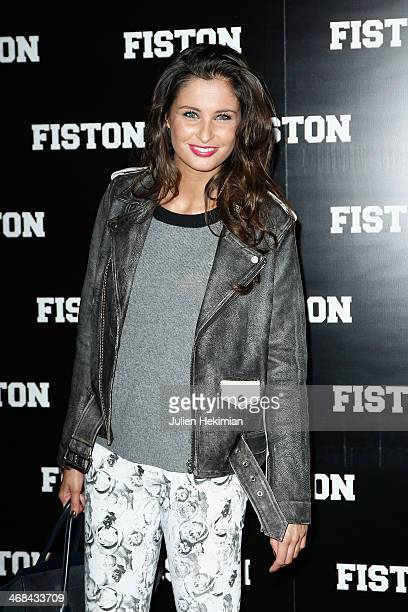 Malika Menard attends 'Fiston' Paris Premiere at Le Grand Rex on February 10 2014 in Paris France