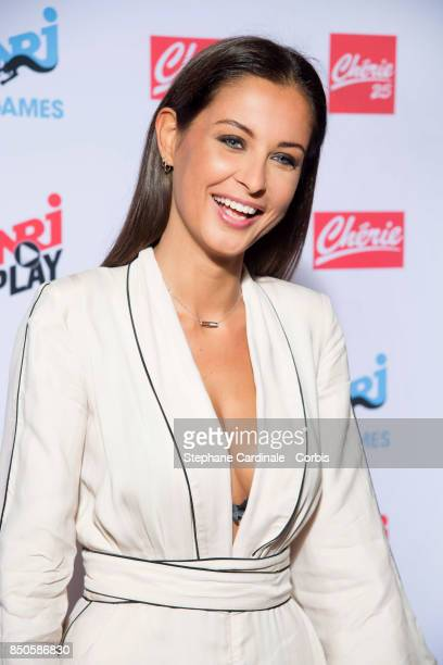 Malika Menard attends the NRJ's Press Conference to Announce Their Schedule for 2017/2018 on September 21 2017 in Paris France