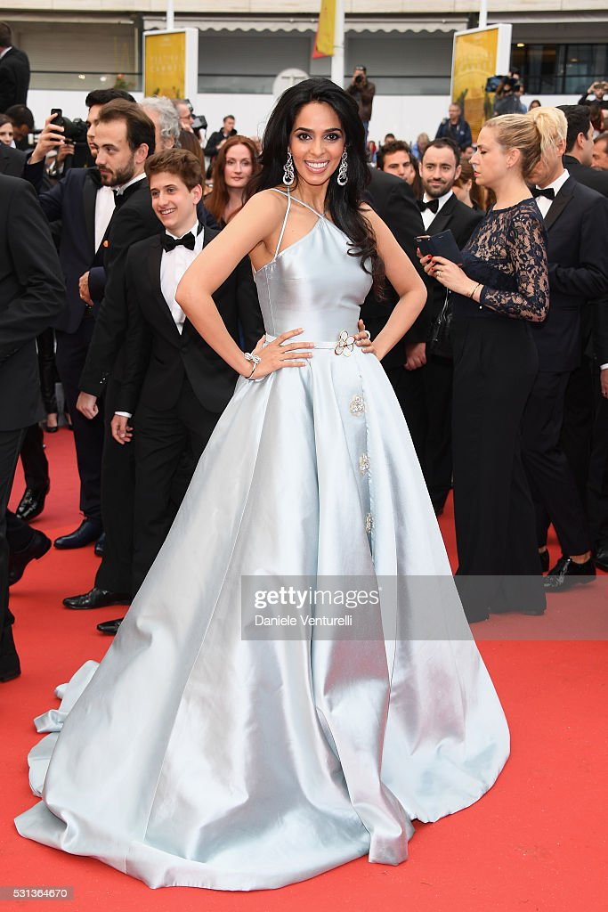 Malika Sherawat attends 'The BFG (Le Bon Gros Geant - Le BGG)' premiere during the 69th annual Cannes Film Festival at the Palais des Festivals on May 14, 2016 in Cannes, France.