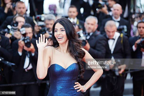 Malika Sherawat attends the 'Macbeth' Premiere during the 68th annual Cannes Film Festival on May 23 2015 in Cannes France
