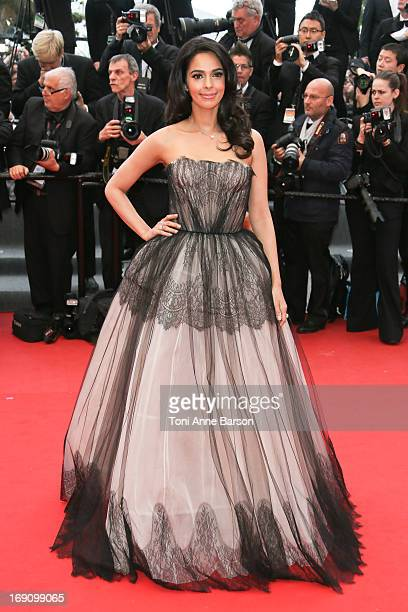 Malika Sherawat attends the Premiere of 'Inside Llewyn Davis' at The 66th Annual Cannes Film Festival on May 19 2013 in Cannes France