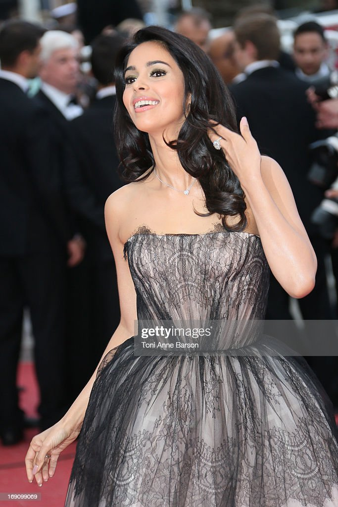 Malika Sherawat attends the Premiere of 'Inside Llewyn Davis' at The 66th Annual Cannes Film Festival on May 19, 2013 in Cannes, France.