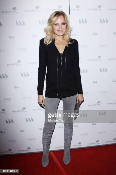 Malin Akerman arrives at the Los Angeles premiere of 'Girl Walks Into A Bar' held at ArcLight Hollywood on March 7 2011 in Hollywood California