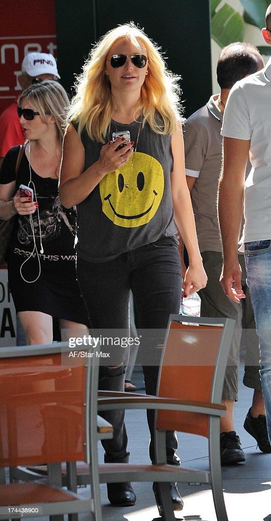 Malin Akerman as seen on July 25, 2013 in Los Angeles, California.