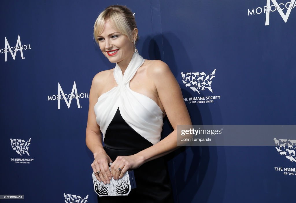 Malin Akerman attends 2017 Humane Society of The United States to the Rescue! New York Gala at Cipriani 42nd Street on November 10, 2017 in New York City.
