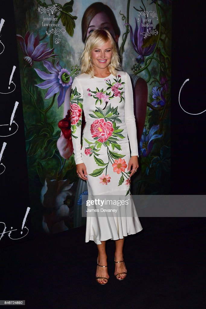 Malin Akerman attends 'mother!' New York premiere at Radio City Music Hall on September 13, 2017 in New York City.