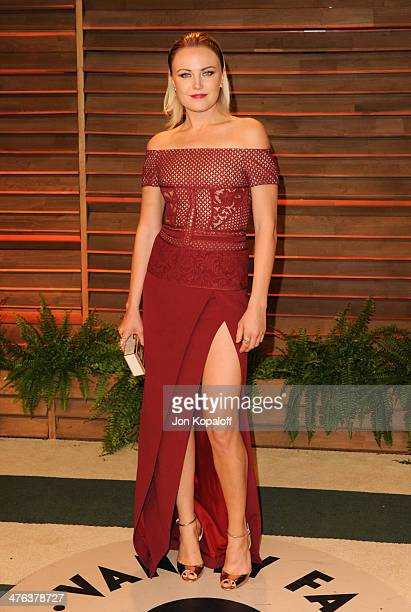 Malin Akerman attends the 2014 Vanity Fair Oscar Party hosted by Graydon Carter on March 2 2014 in West Hollywood California