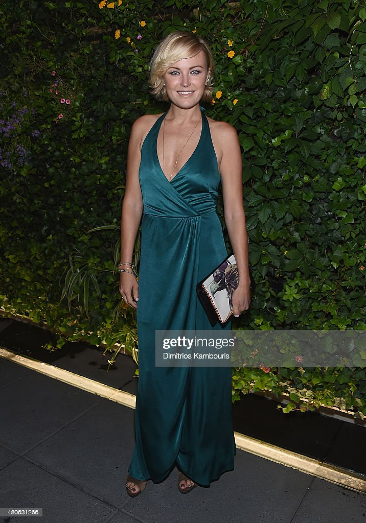 Malin Akerman attends the after party for Marvel's screening of 'Ant-Man' hosted by The Cinema Society and Audi at St. Cloud at the Knickerbocker Hotel on July 13, 2015 in New York City.