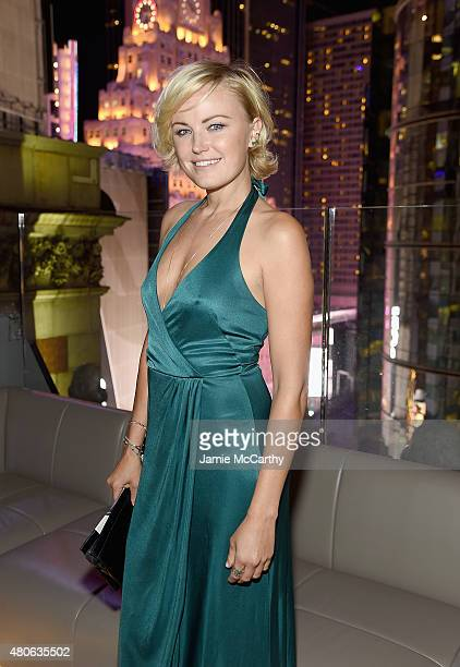 Malin Akerman attends the after party for Marvel's screening of 'AntMan' hosted by The Cinema Society and Audi at St Cloud at the Knickerbocker Hotel...