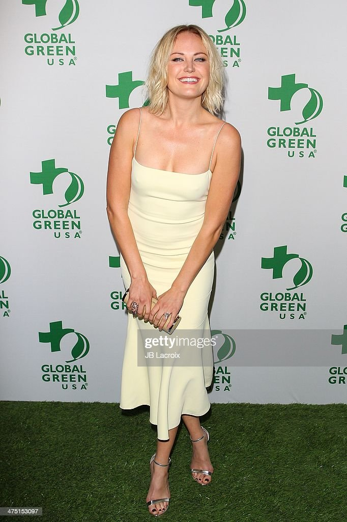 Malin Akerman attends the Global Green USA's 11th Annual PreOscar Party held at Avalon on February 26 2014 in Hollywood California