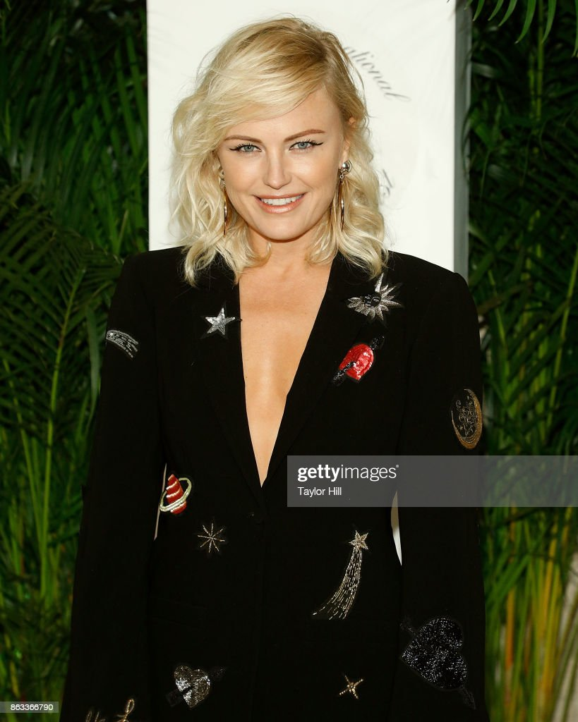 Malin Akerman attends the Vanity Fair And Saks Fifth Avenue 2017 International Best-Dressed List Party at Academy Mansion on October 19, 2017 in New York City.