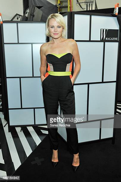 Malin Akerman attends W Magazine NKPR IT Lounge Studio at TIFF Bell Lightbox on September 19 2015 in Toronto Canada