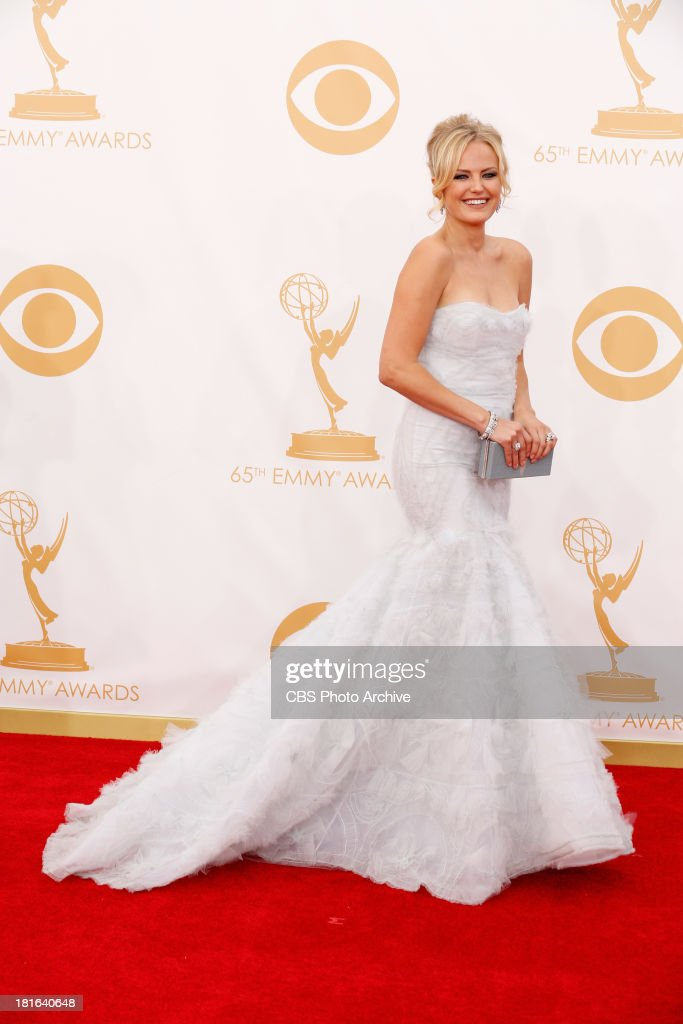<a gi-track='captionPersonalityLinkClicked' href=/galleries/search?phrase=Malin+Akerman&family=editorial&specificpeople=598245 ng-click='$event.stopPropagation()'>Malin Akerman</a> on the Red Carpet for the 65th Primetime Emmy Awards, which will be broadcast live across the country 8:00-11:00 PM ET/ 5:00-8:00 PM PT from NOKIA Theater L.A. LIVE in Los Angeles, Calif., on Sunday, Sept. 22 on the CBS Television Network.