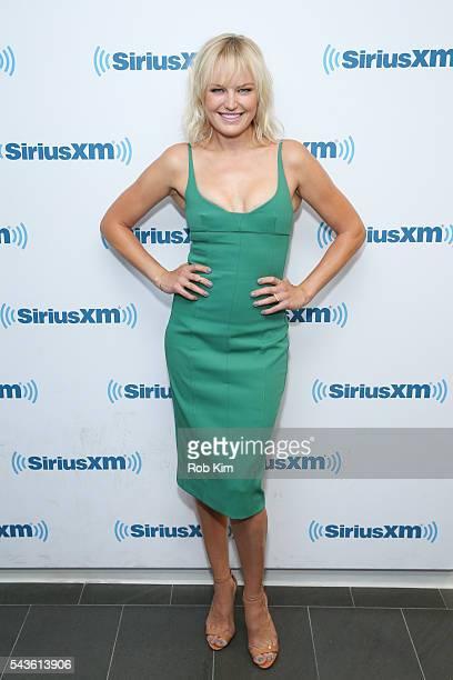 Malin Akerman visits at SiriusXM Studio on June 29 2016 in New York City