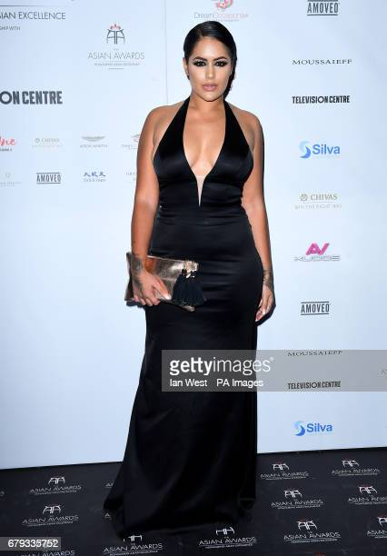 Malin Andersson attending the 7th annual Asian Awards at the Hilton Hotel Park Lane London