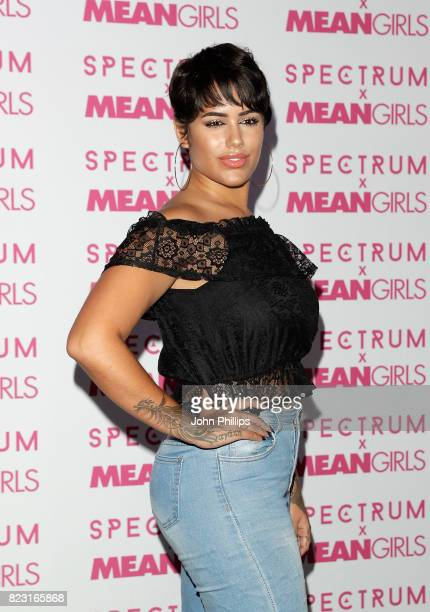 Malin Andersson attends as Spectrum collections launch 'Burn Book' a collection in partnership with Mean Girls and Paramount at Icetank on July 26...