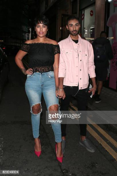 Malin Andersson attends Spectrum x Mean Girls Burn Book launch party at Icetank Studios on July 26 2017 in London England