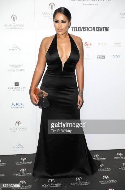 Malin Andersson attends The Asian Awards at Hilton Park Lane on May 5 2017 in London England