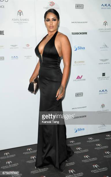 Malin Andersson attends The Asian Awards at the Hilton Park Lane on May 5 2017 in London England