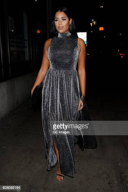 Malin Andersson attends the Urban Music Awards 2016 at Porchester Hall on November 26 2016 in London England
