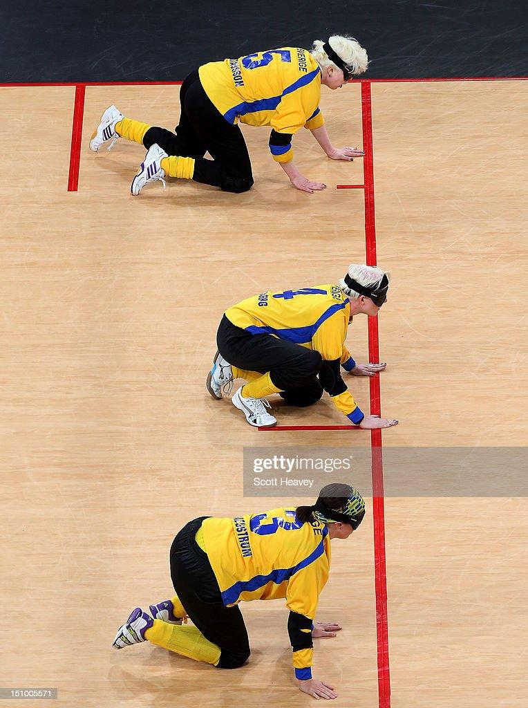 2012 London Paralympics - Day 1 - Goalball