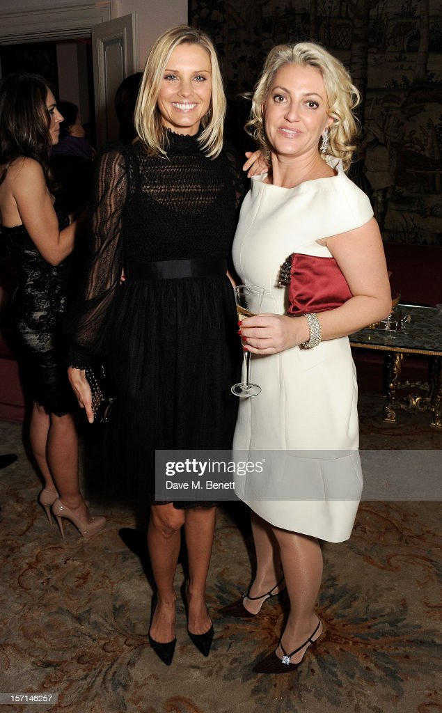 Malin Jefferies (L) and Bea Wawrender attend a dinner celebrating the launch of 'Valentino: Master Of Couture', the new exhibition showing at Somerset House from November 29, 2012 to March 3, 2013, at the Italian Embassy on November 28, 2012 in London, England.